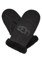 Ugg Australia Shearling Lined Mittens Black