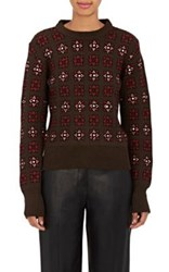 Each X Other Women's Floral Wool Blend Embellished Sweater No Color