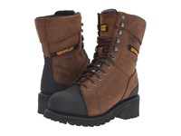 Caterpillar Casebolt Waterproof Tx Steel Toe Dark Brown Men's Work Lace Up Boots