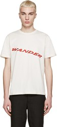 Yang Li Off White 'Wander' T Shirt