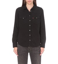 Levi's Modern Western Denim Shirt Black Ink