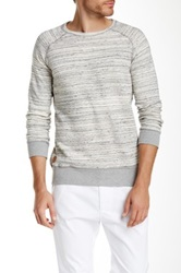 Native Youth Space Dye Crew Sweater Gray