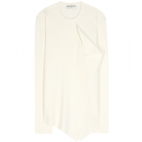 Balenciaga Wool And Cashmere Sweater Ivoire