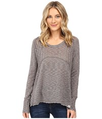Rip Curl Prophecy Pullover Dark Grey Women's Sweater Gray