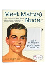 Thebalm 'Meet Matt E ' Nude Eyeshadow Palette No Color