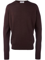 John Smedley 'Marcus' Jumper Red