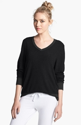 Wildfox Couture V Neck Pullover Jet Black