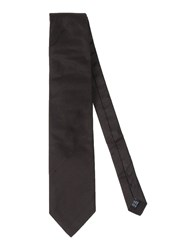 Daniele Alessandrini Accessories Ties Men Dark Brown