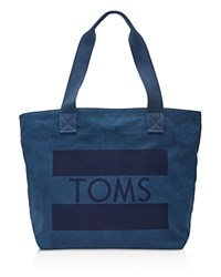 Toms Flag Tote Navy