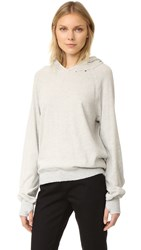 Pam And Gela Hollywood Hoodie Heather Grey
