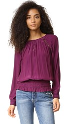 Ramy Brook Alexa Top Sangria