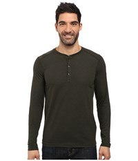 The North Face Long Sleeve Crag Henley Rosin Green Light Heather Men's Clothing