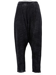 Avant Toi Dropped Crotch Trousers Grey