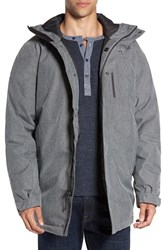 The North Face Men's 'Mount Elbert' Hooded Waterproof Parka Tnf Medium Grey Heather