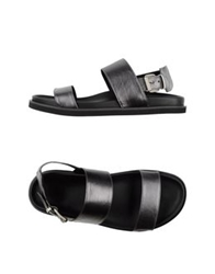 Bb Washed By Bruno Bordese Sandals Silver