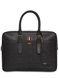 Thom Browne Pebbled Leather Briefcase
