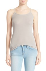 Women's Joie 'Coraline' Cotton Camisole Opal Grey