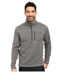 The North Face Gordon Lyons 1 4 Zip Pullover Tnf Medium Grey Heather Men's Long Sleeve Pullover Gray