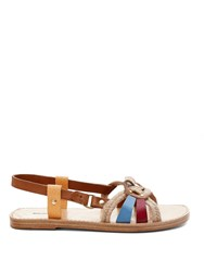 Isabel Marant Etoile Jeana Rope And Leather Sandals