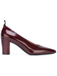 Paul Smith Pointed Toe Pumps Pink Purple