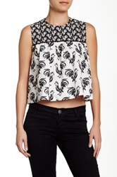 Porridge Cropped Top White