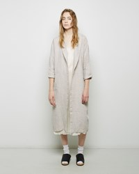 Fog Linen Work Mia Bathrobe White