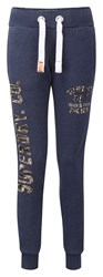 Superdry Track And Field Joggers Blue