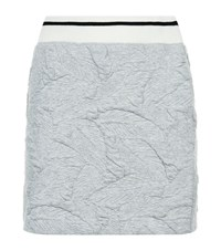 Rag And Bone Quilted Palm Skirt Female Light Grey