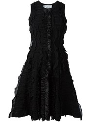 Dsquared2 Fit And Flare Textured Dress Black