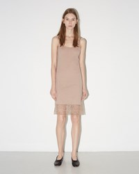 Raquel Allegra Slip With Lace Nude