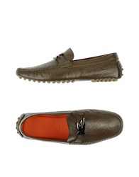 Etro Footwear Moccasins Men Military Green