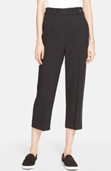 Red Valentino Straight Leg Capri Pants Nero