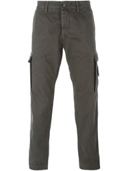 Stone Island Slim Cargo Trousers Grey