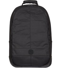 Replay Washed Denim Backpack Black