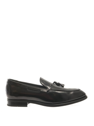 Tod's Leather Tassel Loafers
