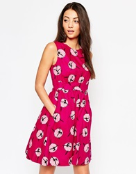 Emily And Fin Emily And Fin Lucy Dress In Ballerina Print Pink