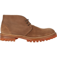 Barneys New York Lug Sole Chukka Boots Beige Tan