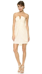 Zimmermann Silk V Dress Pearl