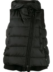 Moncler 'Lauri' Sleeveless Padded Gilet Black