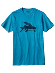Patagonia Flying Fish T Shirt Blue