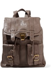 Proenza Schouler Leather Backpack Mushroom