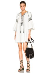 Suno Fwrd Exclusive Embroidered Tunic In White