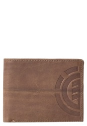 Element Daily Elite Wallet Brown