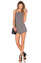 Nbd Thank Me Later Romper Gray