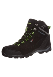 Kangaroos Ktrekking 3008M Walking Boots Black Lime