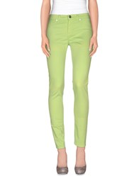 Dirk Bikkembergs Trousers Casual Trousers Women Acid Green