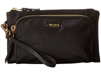 Tumi Voyageur Valera Triple Compartment Wristlet Black Wristlet Handbags