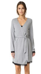Cosabella Waldorf Robe Heather Black