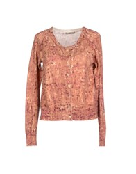 Toy G. Knitwear Cardigans Women Tan