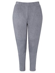 Minimum Heather Suedette Trousers Grey